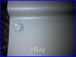 WHITE 60 w x 42 p x 15 d Aluminum Awning / Door Canopy WHITE window kit