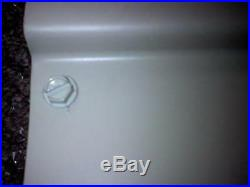 WHITE46 w x 36 p x 12 d Aluminum Awning / Door Canopy WHITE window kit