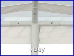 White Carport Canopy Tent 10 X 20 Feet Domain Portable Garage Tent Heavy Duty
